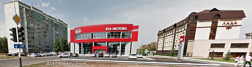 КИА Меркурий на Волгоградской 5  в Оренбурге - официальный дилер автомобилей KIA