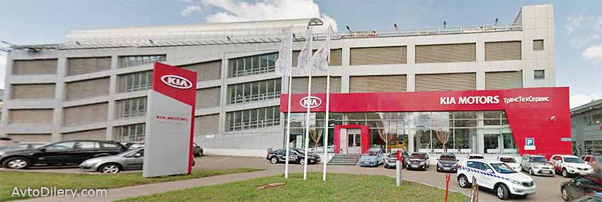 КИА ТрансТехСервис 7 в Казани - официальный дилер автомобилей KIA на Победы 194