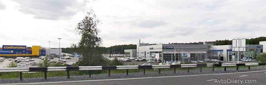 Фото автосалона Хендай-центр в Уфе - Рубежная, 180 - официальный дилер новых Hyundai
