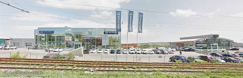 Автосалон Истен Моторс Хендай в Челябинске - Свердловский тракт 5 - официальный дилер новых автомобилей Hyundai