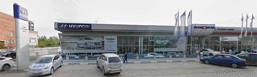 Автосалон Оками Восток в Екатеринбурге - Сибирский тракт, 30 - официальный дилер новых моделей Hyundai