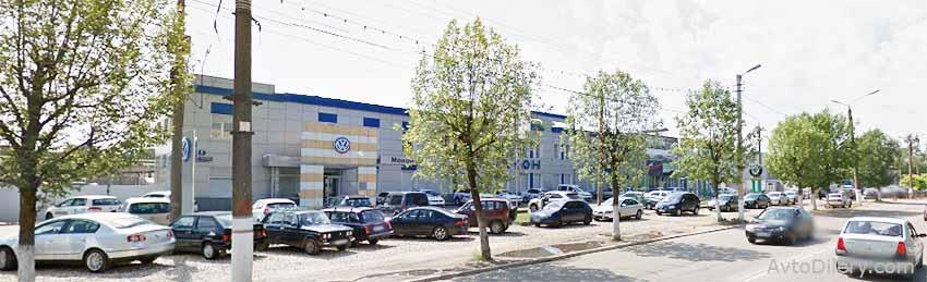 """Автосалон """"Макон авто"""" Фольксваген в Твери - официальный дилер автомобилей volkswagen на проспекте 50 лет Октября, дом 5"""