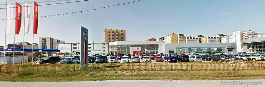 Автосалон Гранд Моторс Ниссан в Тюмени - Алебашевская, 15 - официальный дилер новых автомобилей Nissan