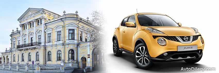 Официальные дилеры Ниссан в Перми - на фото новый Nissan Juke