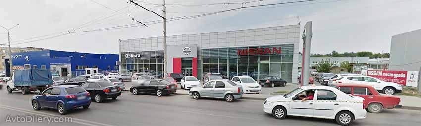 Автосалон Орбита в Ростове-на-Дону - Вавилова, 59 К - официальный дилер новых моделей Nissan