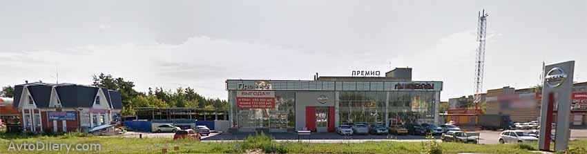 Автосалон Премио Ниссан в Нижнем Новгороде - Дзержинск, Чкалова, 58 Б - официальный дилер новых автомобилей Nissan