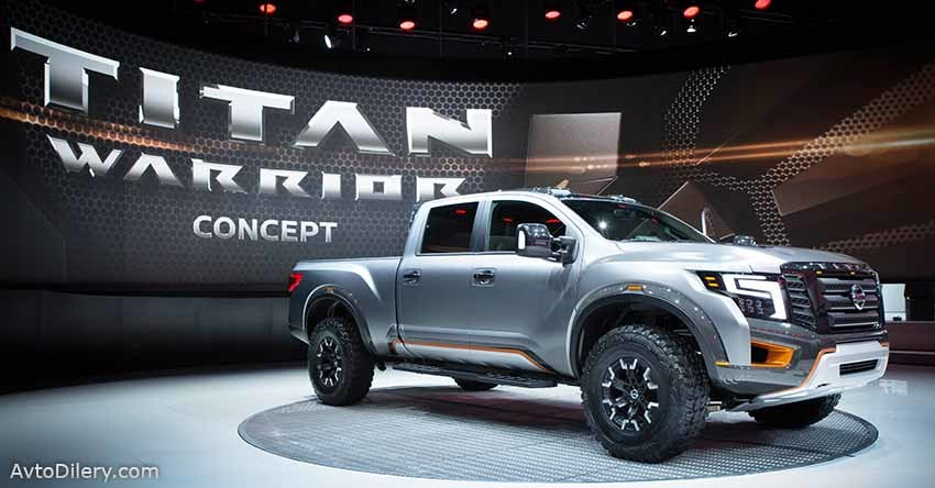 Nissan Titan Warrior concept -на выставке в Детройте
