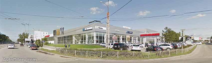 Глазурит авто Равон в Екатеринбурге - официальный дилер автомобилей Ravon на Фронтовых бригад, 27