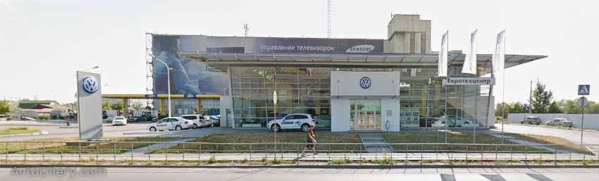Евротехцентр Фольксваген в Омске - официальный дилер автомобилей volkswagen на Герцена, 60