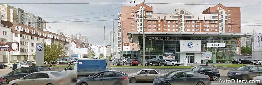 Продажа авто Фольксваген в автосалоне Вольф в Екатеринбурге - Куйбышева, 81 - официальный дилер новых моделей Volkswagen