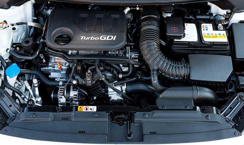 Двигатель 1.6 T-GDI KIA Ceed - фото под капотом КИА Сид