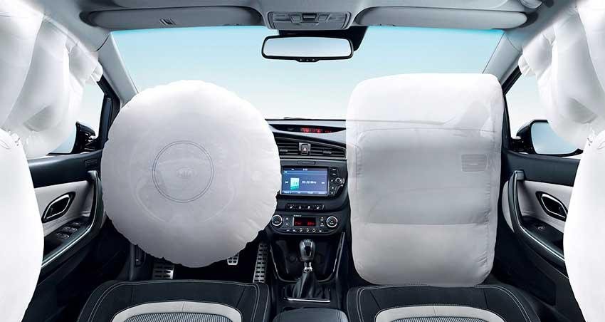 Kia Ceed airbag - подушки безопасности