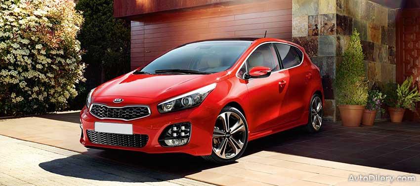 KIA Ceed - комплектации и цены на новый авто КИА Сид 2016 года выпуска