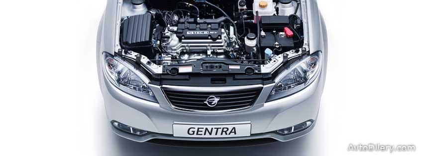 Ravon Gentra - фото двигателя под капотом авто Равон Джентра
