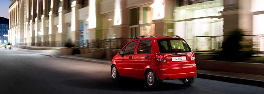 Ravon Matiz  в городе - технические характеристики, комплектации и цены на новый автомобиль Равон Матиз