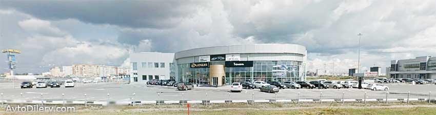 """Купить новый Лексус в Тюмени можно у официального дилера Lexus """"Альянс Мотор Тюмень"""" на улице Федюнинского, 41 - фото центра"""