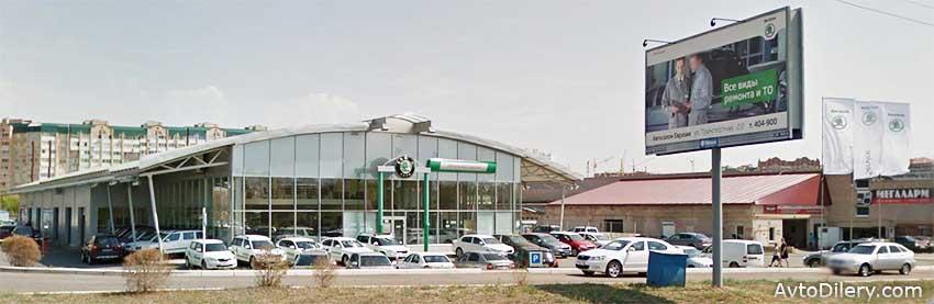 Купить новую Шкоду в Оренбурге можно у официального дилера ŠKODA Автосалон Евразия на улице Транспортная, 2 - фото центра