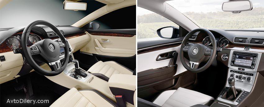 На фото Volkswagen Passat CC - автоматическая и механическая коробка переключения передач - какую выбрать лучше?