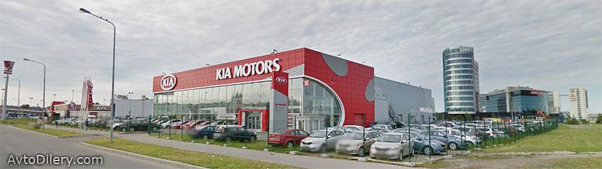 Фото автоцентра Аврора в Авиагородке на Стартовой, 4 - официального дилера КИА в СПб