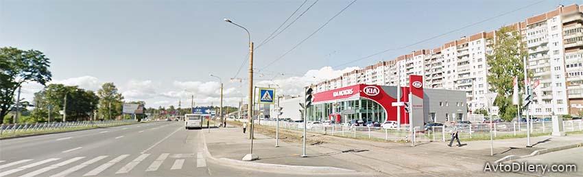 КИА Шувалово-Моторс в СПб - Официальный дилер KIA в Санкт-Петербурге - фото автоцентра