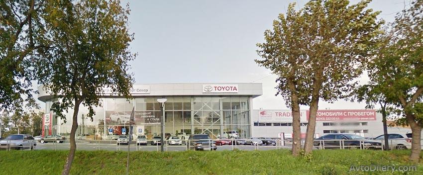 Тойота Центр Екатеринбург Север - Официальный дилер Toyota в Екатеринбурге - фото автоцентра на Восточной, 1