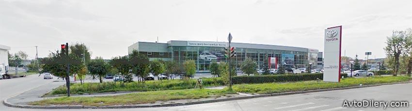 Тойота Центр Екатеринбург Восток - Официальный дилер Toyota в Екатеринбурге на Сибирском тракте, 24 Б - фото автоцентра