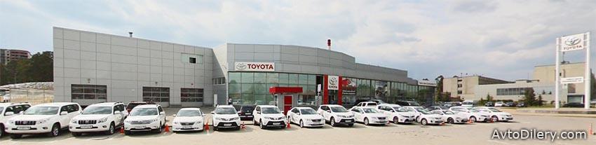 Тойота Центр Екатеринбург Юг - Официальный дилер Toyota в Екатеринбурге на 2-ой Новосибирской, 2 - фото автоцентра