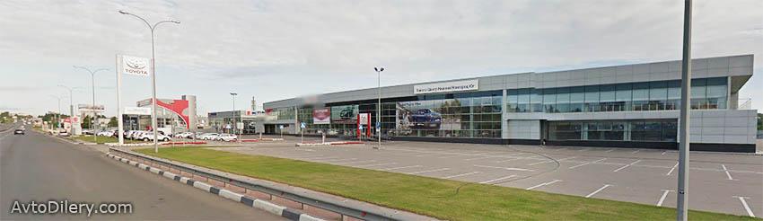 Тойота Центр Нижний Новгород Юг - Официальный дилер Toyota в Нижнем Новгороде - фото автоцентра на Ларина, 30